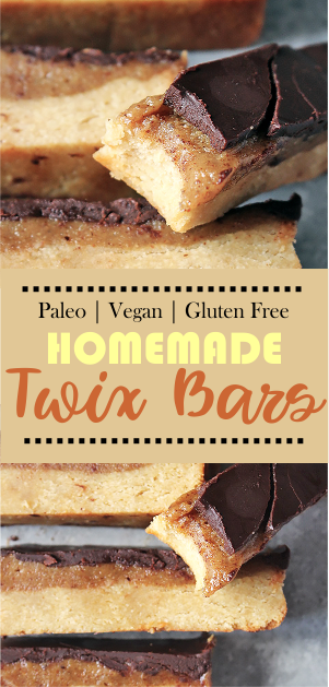 PALEO HOMEMADE TWIX BARS