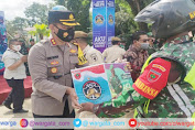 Hadiri Launching ASR, Kapolres Pangkep: TNI-Polri di Pangkep Solid