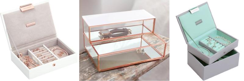 pojemna szkatułka na biżuterię