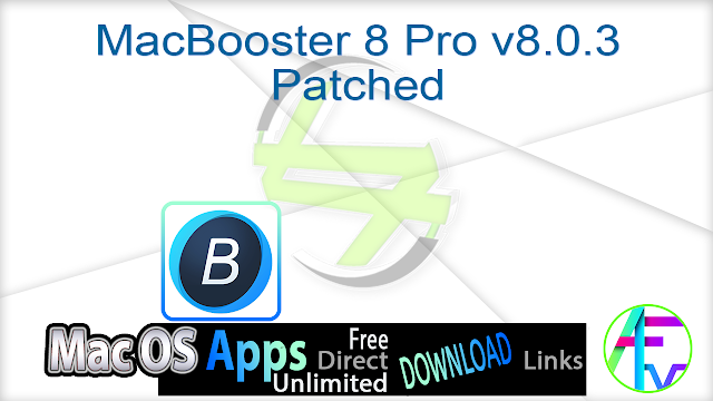 MacBooster 8 Pro v8.0.3 Patched