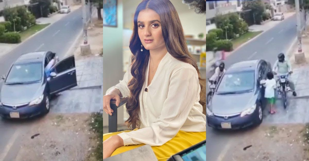 Hira Mani and her Kids got Mugged at Gun Point in Karachi