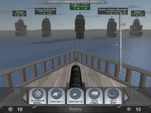 لعبة المعركة الحربية Sea Battle 3D