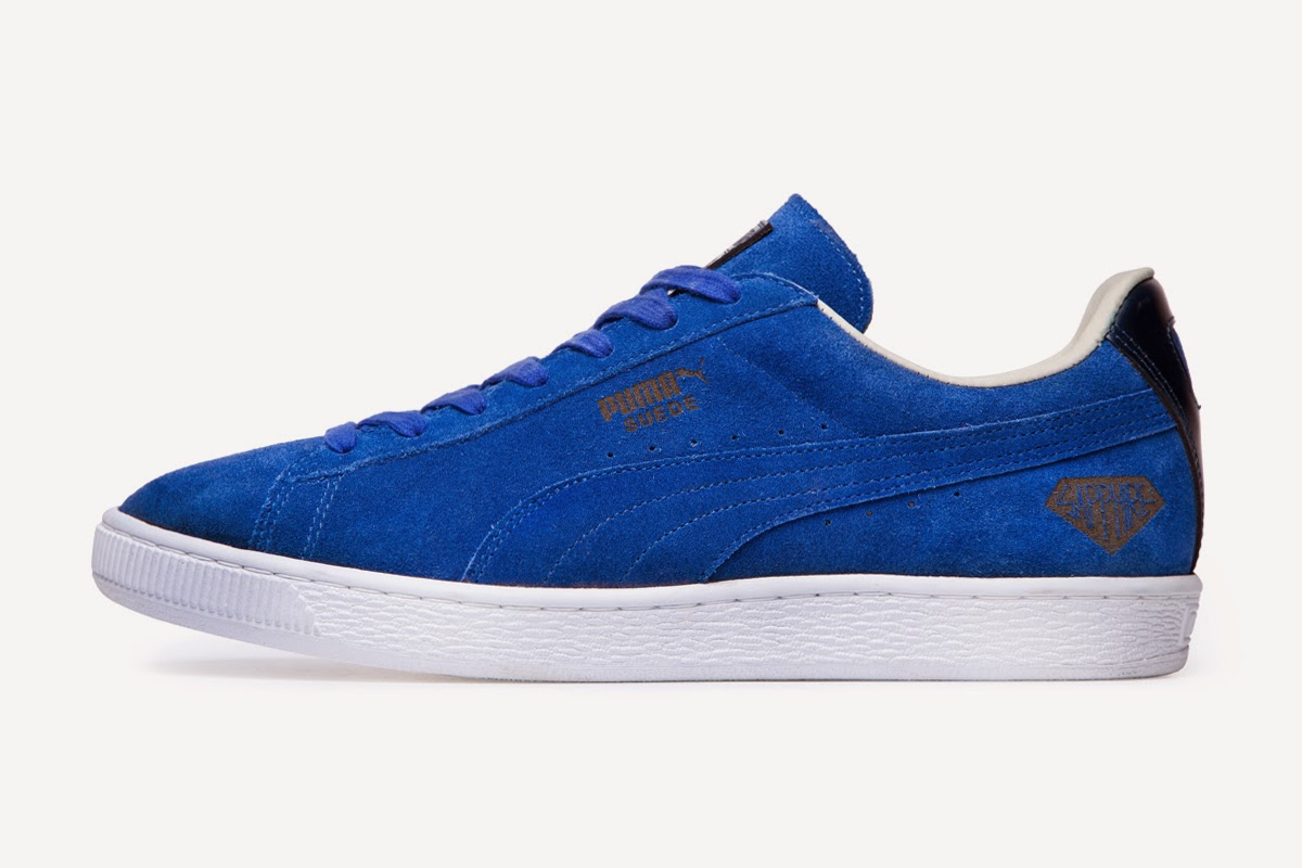 In celebration of the PUMA Suede s 45th anniversary. Steeped in history 12583ee20