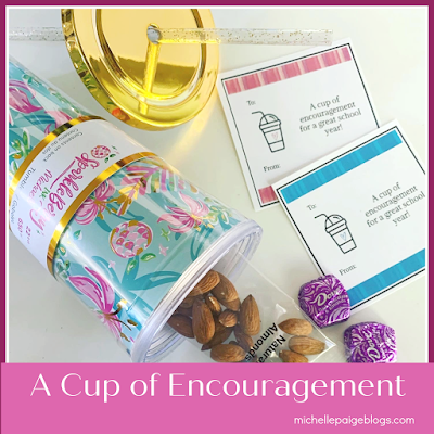 Encouragement gifts to give @michellepaigeblogs.com