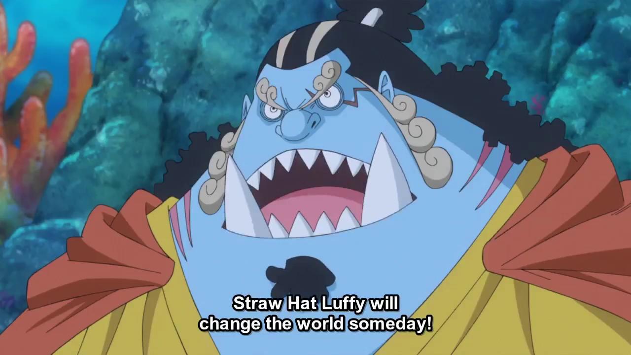 Jinbe Kru Bajak Laut Topi Jerami One Piece