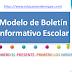 7 Modelos de Boletín Informativo Escolar