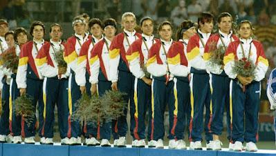 equipo, hockey, oro, Barcelona 92