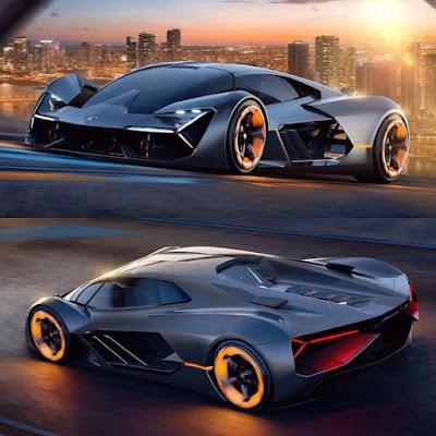 """""""Lamborghini Terzo Millennio"""" photos officielles, Lamborghini apporte le futur des hypercars, le Terzo Millennio."""