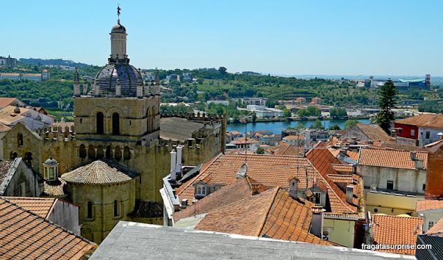 A Sé Velha de Coimbra vista do Museu Nacional Machado de Castro