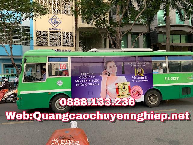 Dịch vụ quảng cáo trên xe bus, xe buýt giá rẻ