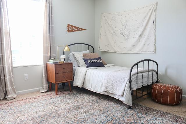 A Vintage Modern Boy's Room