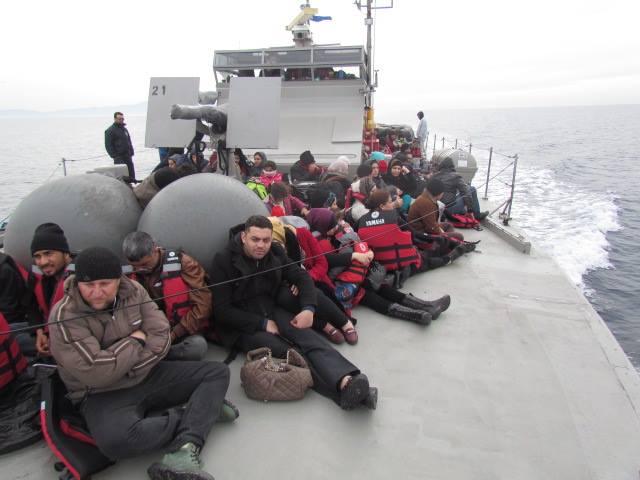 Όσο το ΝΑΤΟ κάνει… βόλτες το Πολεμικό Ναυτικό σώζει κόσμο στο Αιγαίο!