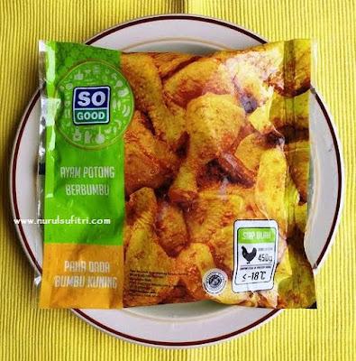 Resep So Good Ayam Goreng Kecap dengan Menu Piring Gizi Seimbang