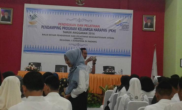Pendidikan dan Pelatihan Pendamping PKH