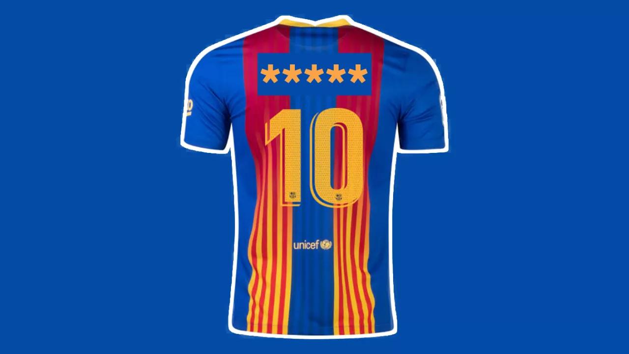 Barcelona New number 10