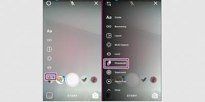 Cara Menggunakan Photobooth Instagram Untuk Video Stop Motion