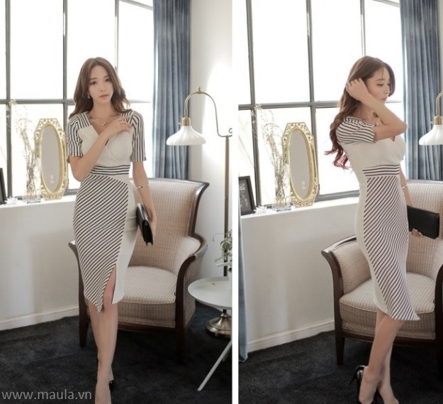 Đầm ôm body đẹp tôn dáng cho các bạn nữ