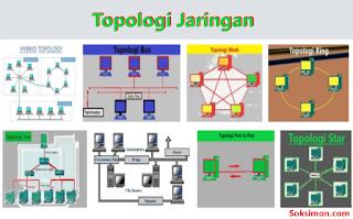 8 Jenis Topologi Jaringan: Gambar, dan Pengertian Topologi Jaringan