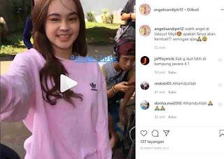 Fanya Masuk Syuting Fatih Di Kampung Jawara 4