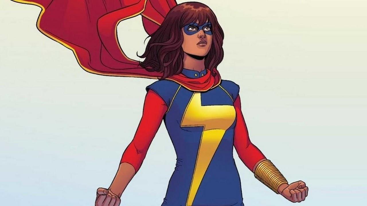 'Ms. Marvel': Kamala Khan aparece vestida como Capitã Marvel nos bastidores