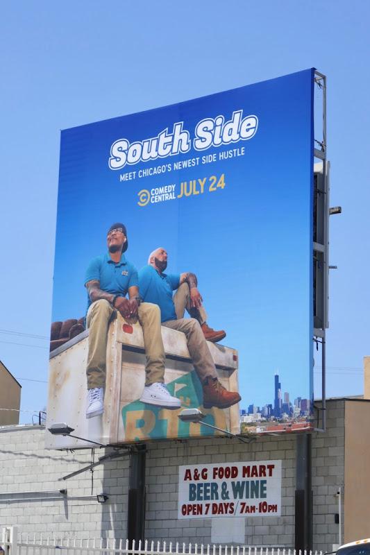 South Side season 1 billboard