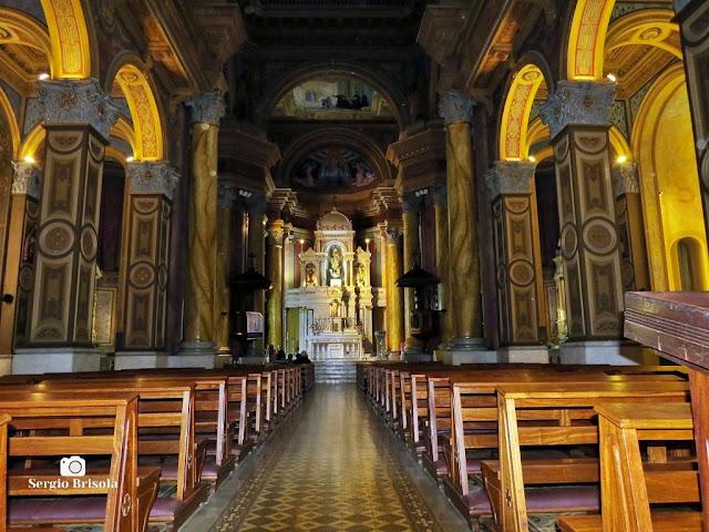 Vista do interior da Paróquia Imaculado Coração de Maria - Vila Buarque - São Paulo