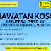 331 Jawatan Kosong Kementerian Kerja Raya Malaysia. Gaji RM2,529.00 - RM9,643.00