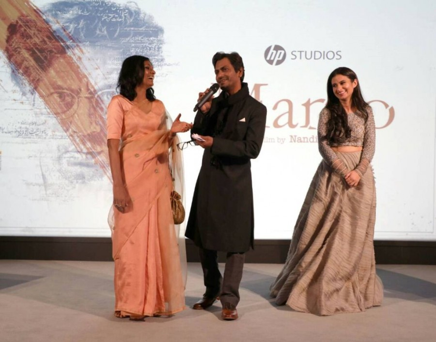 Nawazuddin and Rasika Celebrate Manto Night at Cannes