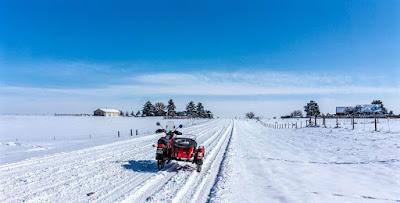 Uraling after recent snow storms