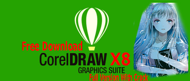 CorelDRAW x8 Free Download Full Version With Crack