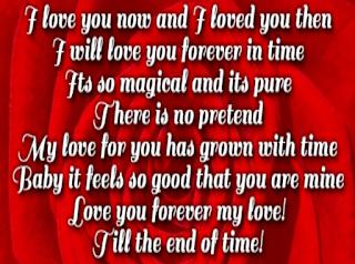 Romantic love poems