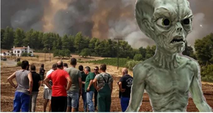Βρέχει στην Εύβοια και οι κάτοικοι πανηγυρίζουν!  ενώ οι συμμορίτες τρίζουν τα φιδίσια δόντια τους  (video)