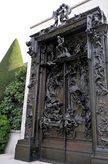 The Gate of Hell in Musée Rodin