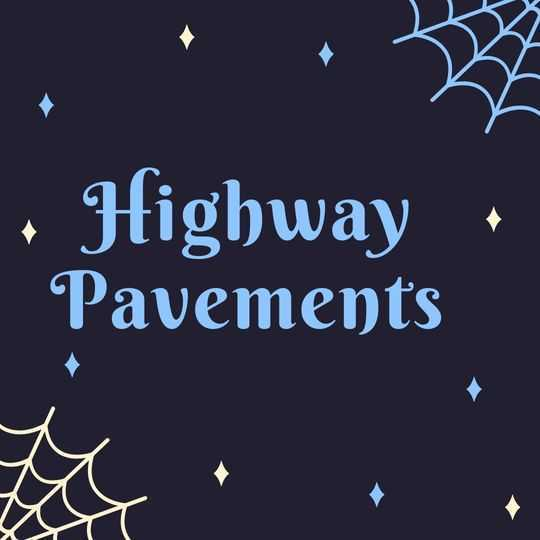 Highway Pavements