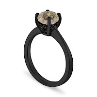 Engagement-rings-black-solitaire-ring-ideas-KMich Weddings and Events-Philadelphia