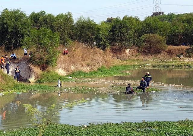 BÌNH DƯƠNG | Hai bé gái chết dưới hồ nước