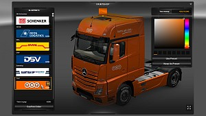 Mercedes MP4 Skin Pack Logistics