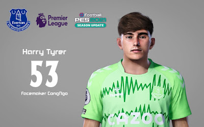 PES 2021 Faces Harry Tyrer by CongNgo