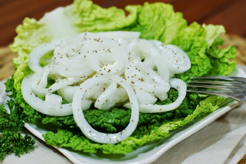 Marinated Vidalia Onion Salad - The Kitchen is My Playground