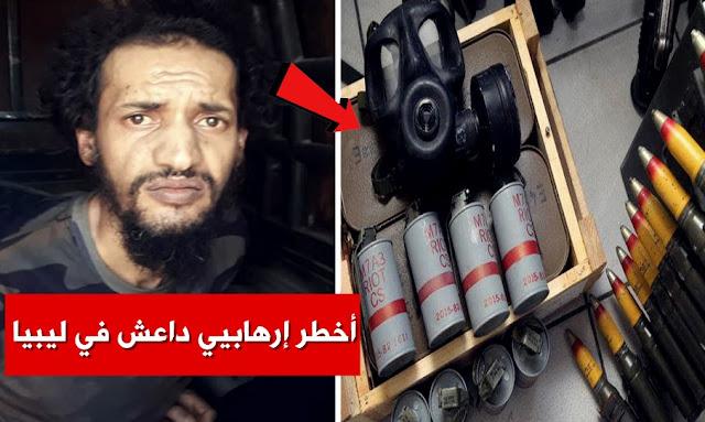 كان يستعد لنقل ذخائر وأسلحة وإرهابيين إلى تونس: الجيش الليبي يقبض على إرهابي خطير Libyan National Army Arrests ISIS Militant