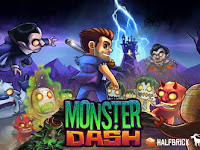Download Game Monster Dash APK DATA Unlimited Money