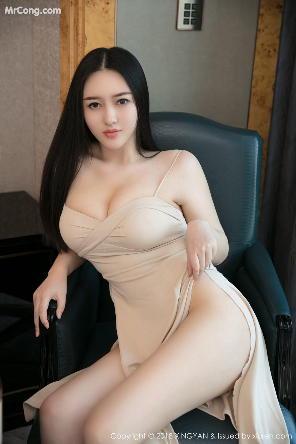 Image XingYan-Vol.031-En-Yi-MrCong.com-010 in post XingYan Vol.031: Người mẫu En Yi (恩一) (43 ảnh)