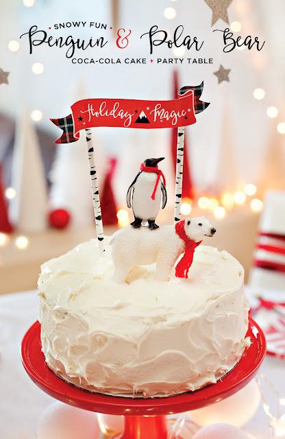 торты кремовые, торты с кока-колой, тесто на кока-коле, Новый год, торты новогодние, Рождество, стол новогодний, стол рождественский, торты, торты с кремом, выпечка, кока-кола