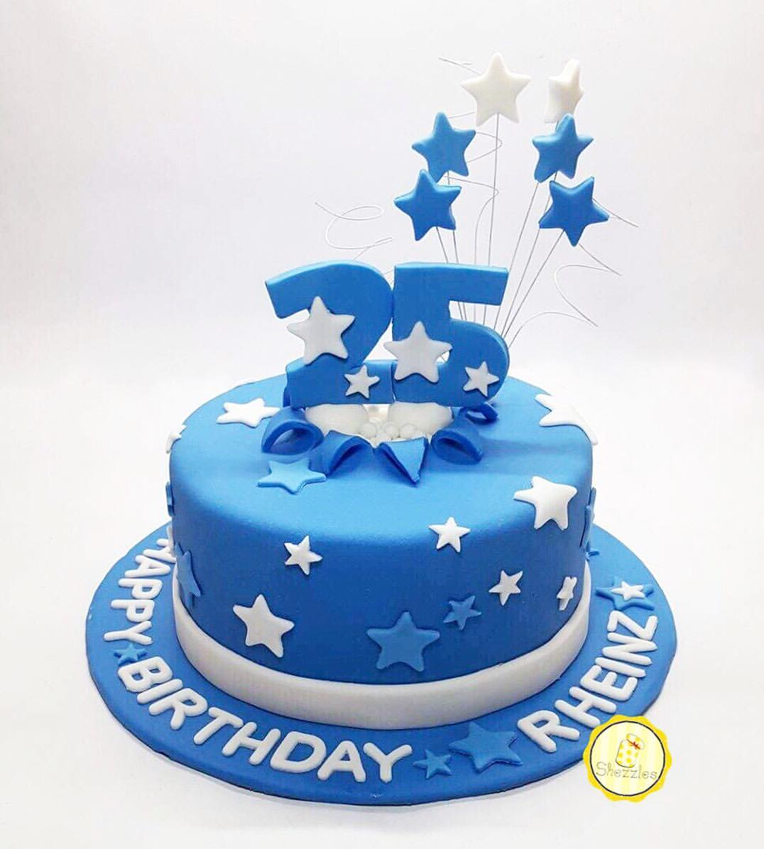 Super Shezzles Cakes And Pastries Rheinzs 25Th Birthday Cake Funny Birthday Cards Online Alyptdamsfinfo