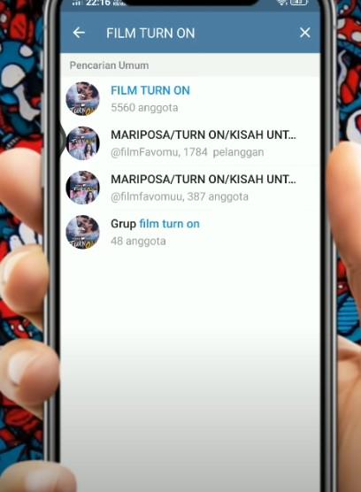 Film Turn on Telegram