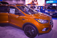 2017 Ford Escape exterior view at the Portland Auto Show