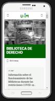 Biblioteca Derecho UAM móvil