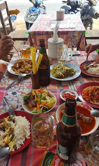 Comida en Birmania