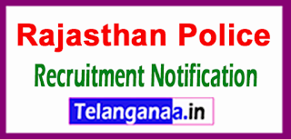 Rajasthan Police Recruitment Notification 2017 Last Date 19-06-2017