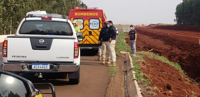 Motorista de caminhonete morre após peça de caminhão se soltar e atingi-lo no Paraná